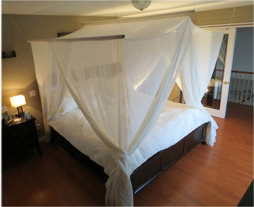 Bed Canopy Cotton Fabric To Use In Shielding Sleeping Areas